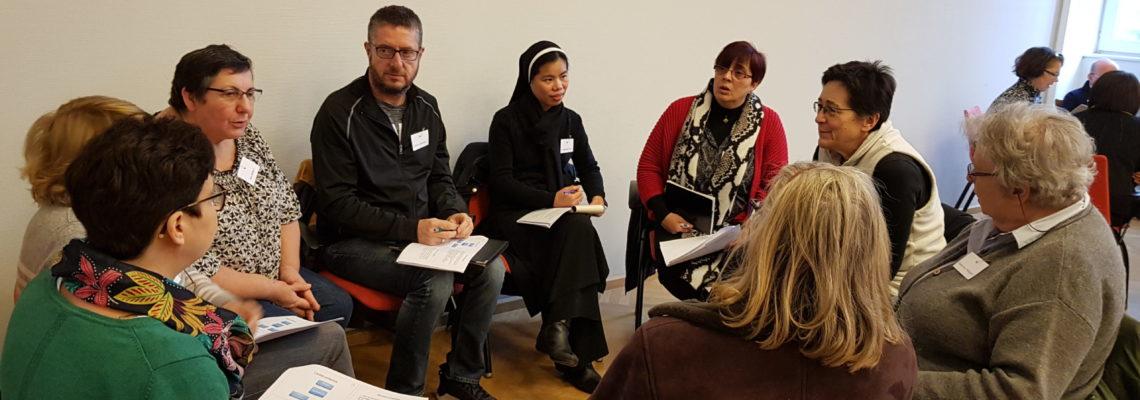 Première journée transversale sur la vie d'équipe – «Enjeux anthropologiques, théologiques et pastoraux» (Photos)