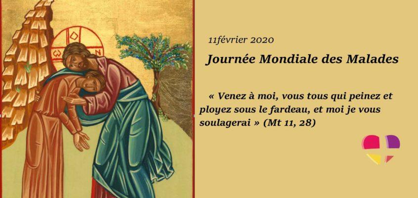 Message du Pape François à l'occasion de la 28e Journée Mondiale du Malade 2020