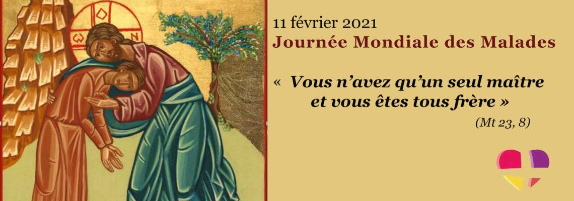 Message du Pape François pour la 29e Journée Mondiale du Malade